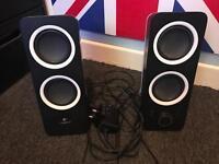 Logitech Z200 2.0 speakers