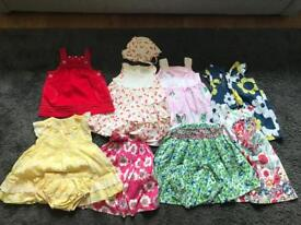 Girls 6-12 Months dresses - select individual items or all
