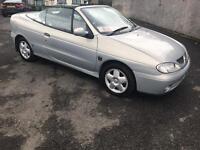Renault megane convertable full year mot cheap!!!!