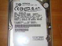 Hitachi desktop PC hard drive 250GB for sale.