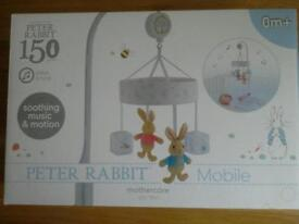 Peter Rabbit cot mobile