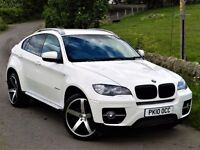 STUNNING! (2010) BMW X6 3.0 XDRIVE 35D -22 INCH ALLOYS - FULL SERVICE HISTORY - LEATHER - SAT NAV