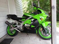 2002 zx9r custom trade for another bike