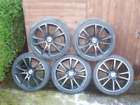 Vauxhall wheels VXR to fit Astra H and Zafira B