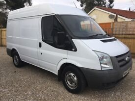 Ford Transit Tdci - 57 Reg - SWB - Medium Roof - Long Mot - 3 Seater - NO VAT