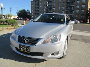 2010 Lexus IS 250 ONE OWNER, OFF LEASE