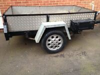 Good Strong Steel Trailer
