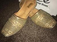 SOLD. Men's designer Indian shoes