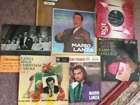 Mario Lanza records