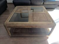 1960-1970s Retro Solid Wood Stylish Coffee Table