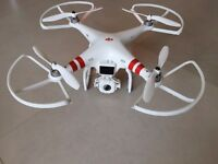 DJI Phantom FC40 Drone Quadcopter. WIth camera. Great condition and loads of extras / accessories