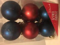 Box of Christmas Decorations & Baubles , Next , Himesense