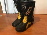 SIDI motorbike boots size 7