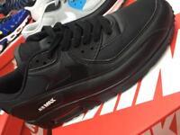 Nike air max 90 blk/wht Lthr 6,7,8,9,10,11