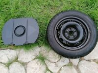 Spare wheel and tyre Dunlop 14inch & jack kit excellent condition