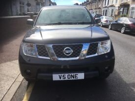 Nissan Pathfinder private plate included in sale fully loaded not(navara,l200,pajero)