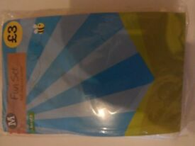 NEW set of 3 inflatable ball , ring and surfer all in unopened packet all for £1