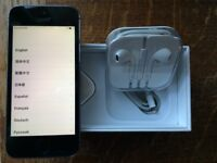 Iphone 5S 16GB Unlocked with box and all accessories