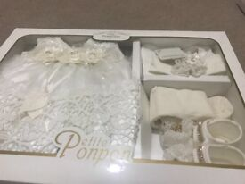 Brand New with Tag, in box: 0-3 mnths Baby Sets for Special Occasion