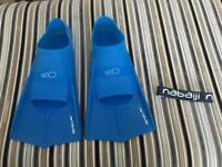 Nabaiji Diving flippers 10-11 in spotless condition