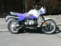 BMW R100 GSPD FOR SALE/PART EXCHANGE / SWAP HARLEY DAVIDSON 1340 /TRIUMPH T140