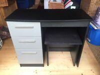 Desk/Dressing Table & Stool