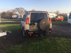Gold Landrover Discovery TD5 ES Auto 2002