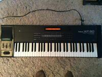 Roland Xp 50 Synthesiser Workstation plus 600 sounds floppy disk