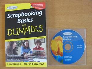 Ultra Pro Scrapbooking Basics for Dummies plus DVD