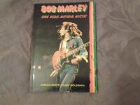 """Softback book, BOB MARLEY """" SOUL REBEL - NATURAL MYSTIC""""."""