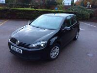 VW Golf (2012) Black 68000 miles