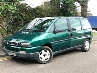 2001 FIAT ULYSEE EL, 2.0 ENGINE, 7 SEATER, BRAND NEW MOT.