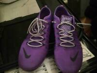 Nike ladies running shoes size 4 as good as new