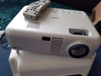 A New NEC VT46 Projector With Remote Control
