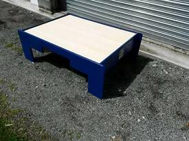 Blue play table