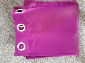 Thermal curtains - purple