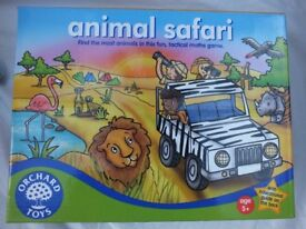 Animal Safari Orchard Games (suitable for ages 5+)