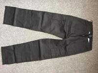 """32""""/32"""" R combat working trousers new black"""