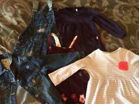 2-3 yr old girls dress. Jojo maman Bebe, Joules and Monsoon. £30 Ono