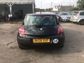 Renault megane bargain £950 2008 reg perfect condition