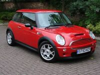 EXCELLENT EXAMPLE!!! 2003 MINI Hatch 1.6 COOPER S 3dr, HALF LEATHER, 1 YEAR MOT, WARRANTY