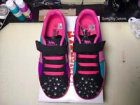 Brand new Customised Lonsdale trainers size UK 1 EU33