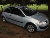 Renault Megane 1.4 Extreme 3 door £195 ono Cheap Trade in to Clear