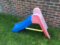 Childrens plastic slide