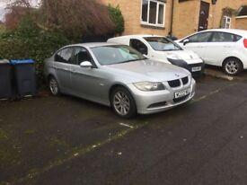 BMW 320d, Diesel, 55 Reg, 99k Mileage, Silver, Tinted Windows MOT til end of September