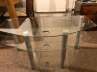 Glass tv stabd