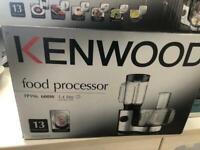Kenwood food processor.