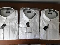 Brand new white shirts x3