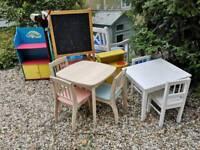 Five items cjildrens furniture