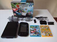 Wii U Mario Kart Premium Pack 32gb Console with 2 Games
